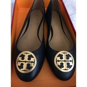 EUC Tory Burch Benton Ballet Flat Nappa Leather